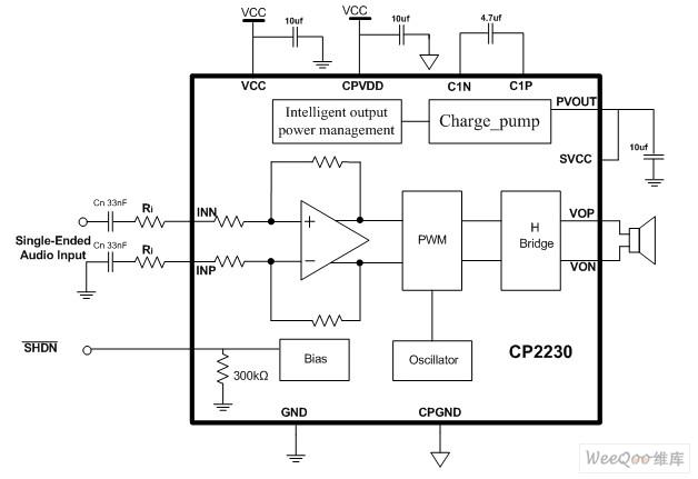 在单节锂离子电池供电下,可提供业内最大的恒定输出功率及最高的效率