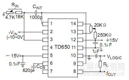 单极性负输入电压
