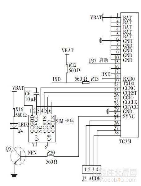 tc35i 模块电路连接图