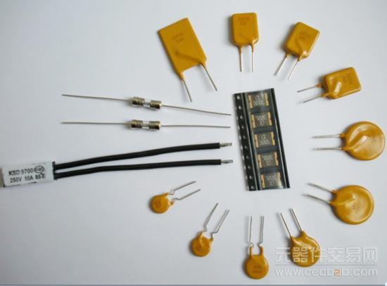当电路中的电流急速增加时,自恢复保险丝的温度会瞬间上升,而引起其