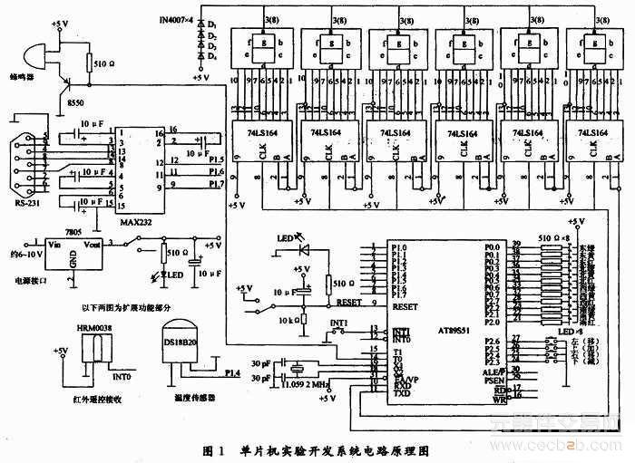 at89s51单片机实验系统的开发与应用