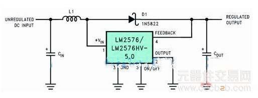 图3 升压型电路原理图