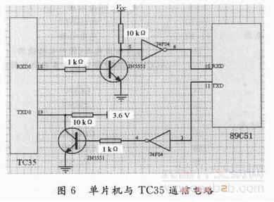 tc35与51连接电路图