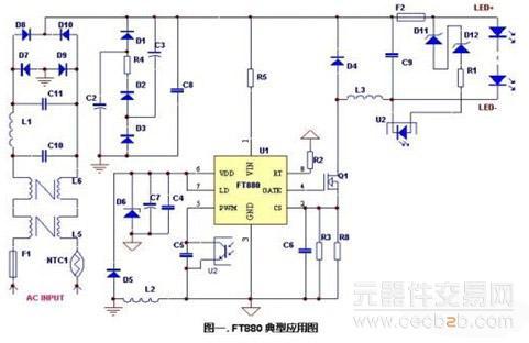 采用高效率的低边buck拓扑结构的led照明设计