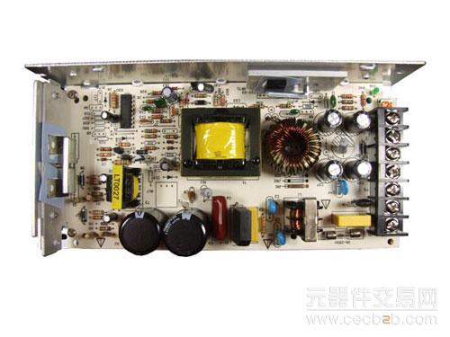 配合德州仪表的tl494cn调节输出电压,改变输出电流.
