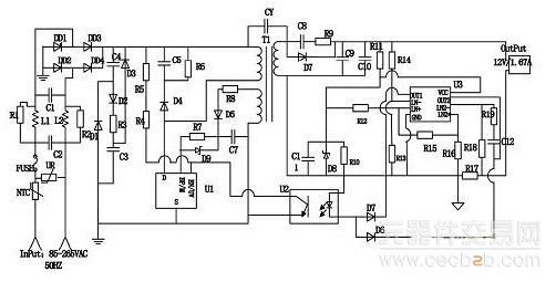 以tny279为核心的大功率led驱动电源电路设计方案