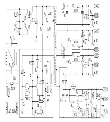 一种高精度的有变压器隔离的开关电源的解决方案