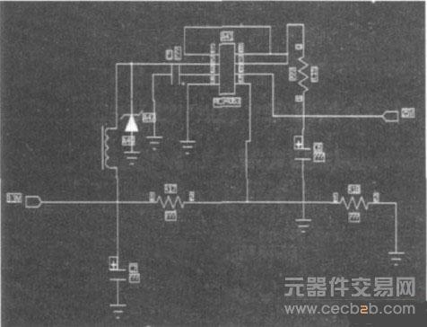当电池电压减小到均衡充电动作电压4. 18 v时,保护电路自动断开.