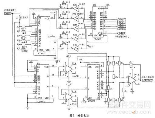 电路 电路图 电子 户型 户型图 平面图 原理图 511_388