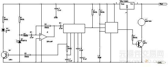 将红外线发射接收电路合二为一的防盗报警器的设计方案