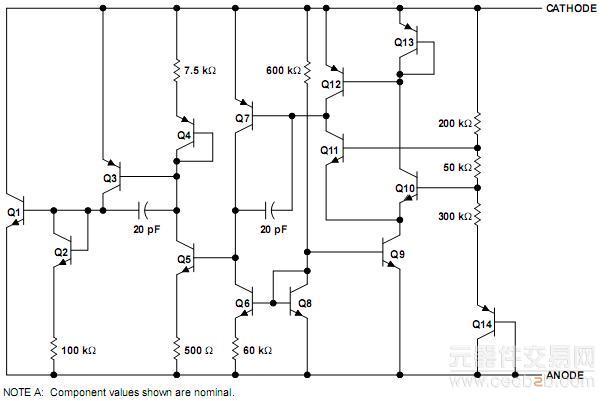元器件交易网lm385dr-1.2数据资料
