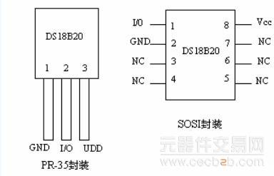 ds18b02测温电路图