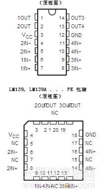 元器件交易网lm139aj相关中文资料