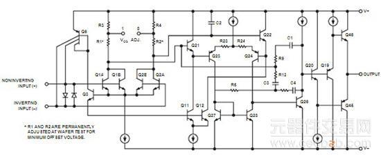 元器件交易网精密运算放大器op27gs的相关资料