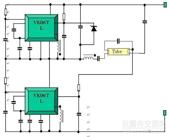 智能功率技术的荧光灯驱动电路设计