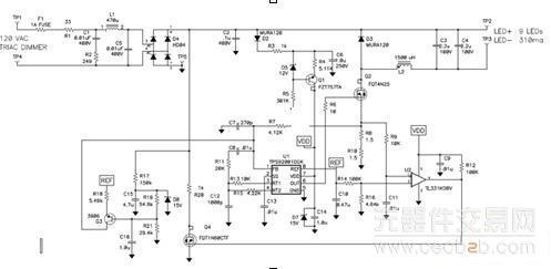 使用高压led来提升led灯泡效率