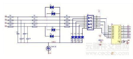 信号采用光电隔离,设计隔离电源,分析容易产生干扰的部分(如时钟电路