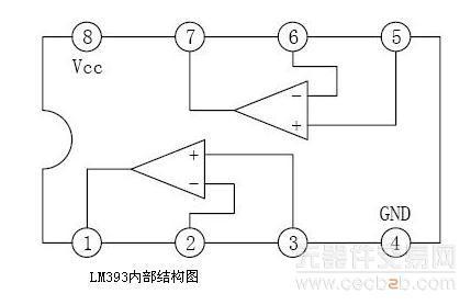lm393双电压比较器集成电路资料详解