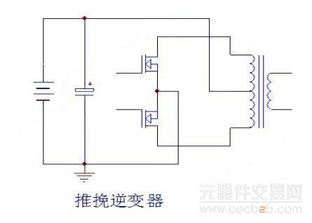 大家知道,目前逆变器/ups的电路结构一般为推挽结构,主电路的框图