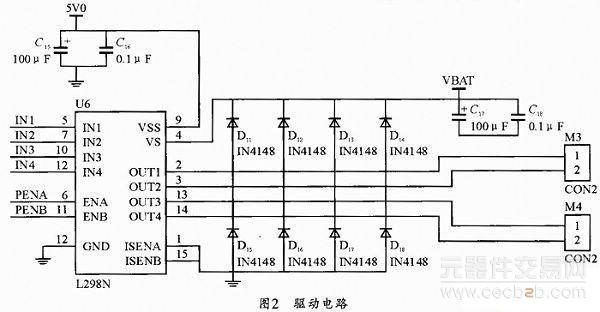 基于stm32f103rct6的电脑鼠控制系统方案解析