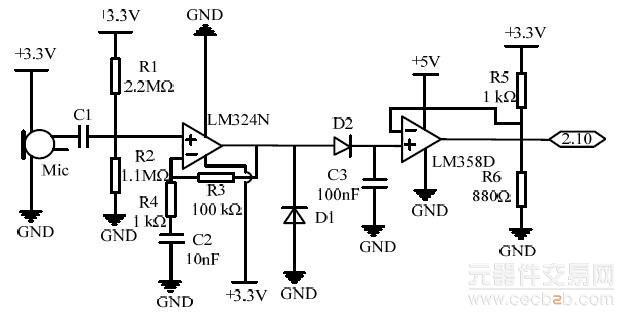 系统直流电机驱动芯片采用sgs 公司的l298n,内部有4 通道逻辑驱动电路