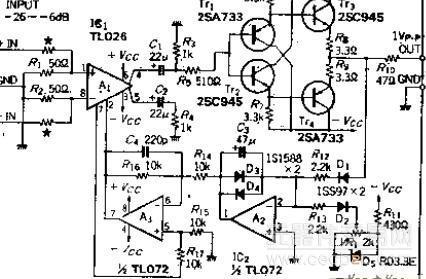 宽带alc放大器电路功能介绍
