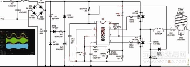 低成本紧凑型荧光灯镇流器的设计理念分析