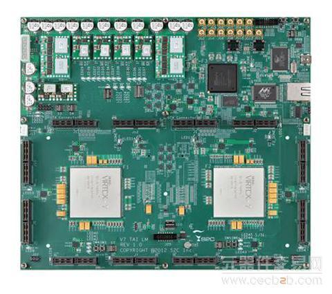 s2c第五代产品以基于fpga的virtex-7为基础,旨在使原型验证在单板上