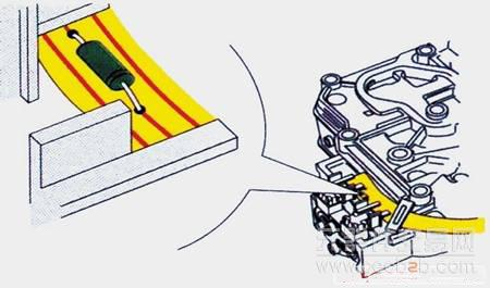 图3 自动变速器油温传感器