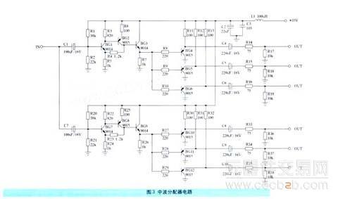 要监测6套中波广播,因此,需要用中波分配器分配中波信号给6台接收机.