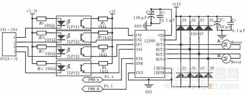 图3 电机驱动模块