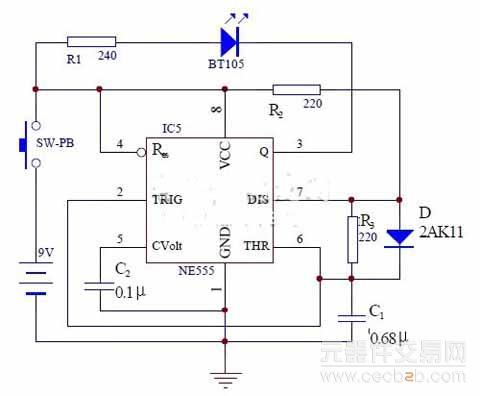 3 红外线接收放大电路