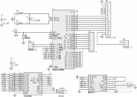 基于51单片机的数控电流源设计