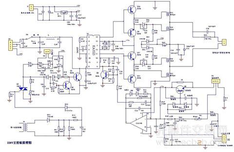 图2:逆变焊机主控电路原理图