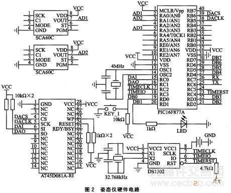 ds1302电路图及分析