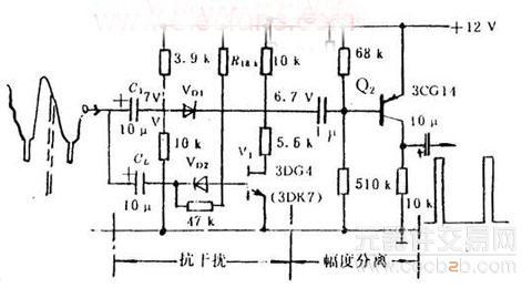 抗干扰电路和幅度分离电路分析 - 技术资料 - 元器件