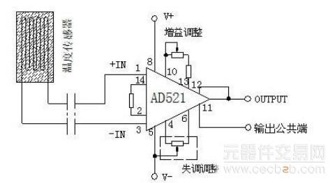 图3 信号放大电路原理图