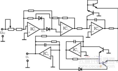 > 正文     (2)有效值采样电路有效值采样电路的功能是将交流有效值信