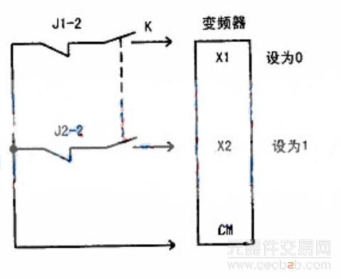 的型号为jzc-23f/dc12v.延时控制电路原理图如下图所示.