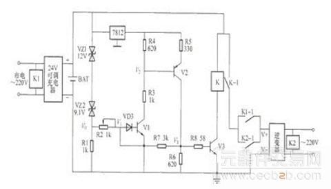 一种实用ups电源电路图介绍 - 技术资料 - 元器件交易