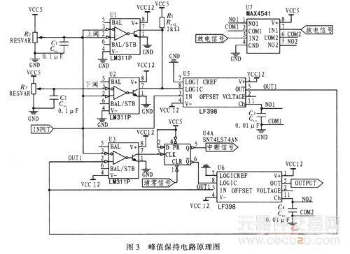 高速脉冲峰值保持电路的设计模式分析