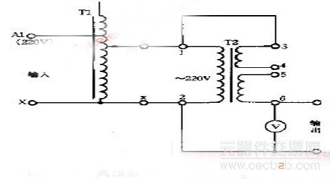 调压器串变压器提高输出电压方法介绍