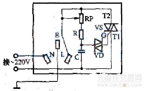 自制可调压电源插座方法介绍