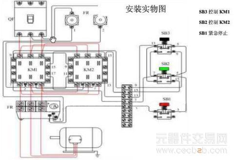有关电机正反转电路图详解