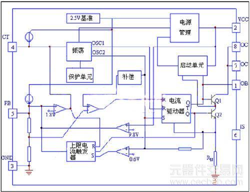 图1:sw2604内部电路参考框图