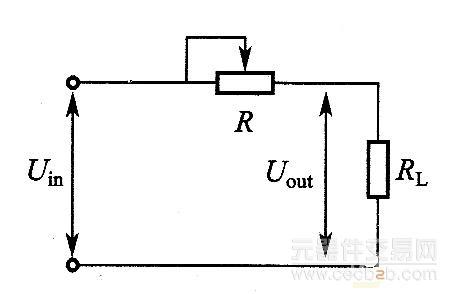 变压器降压后,再经整流滤波电路转换成直流uin,加在调整管与负载两端.