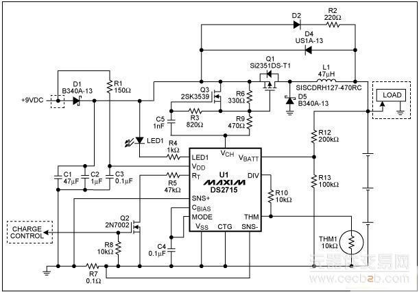 电路 电路图 电子 原理图 611_427