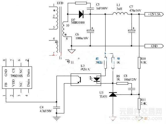 一种光耦在led电源驱动芯片上的应用方式分析