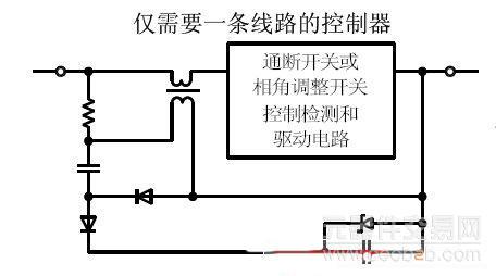 图1: 利用微功耗运放改变供电电路.