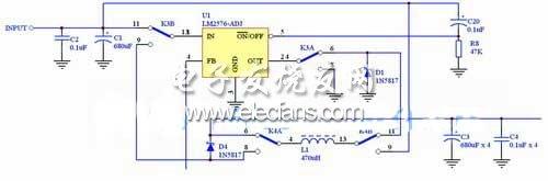 基于lm2576的多功能开关电源设计